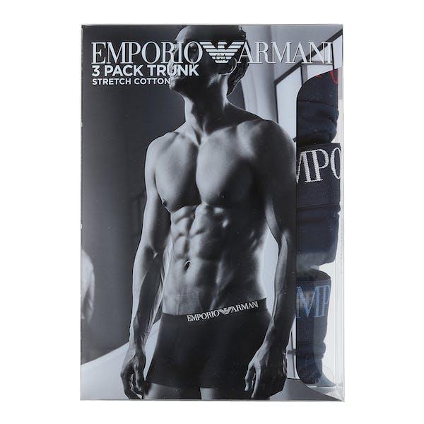Emporio Armani Knit 3-Pack Boxer-Shorts
