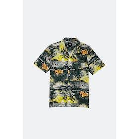 Huf Venice Woven S S Shirt - Black