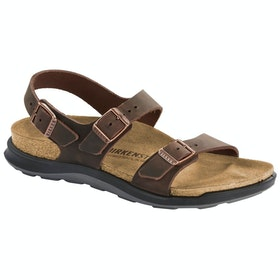 Birkenstock Sonora Ct Oiled Leather Sandals - Habana