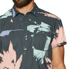 O Neill Allover Flowal Short Sleeve Shirt