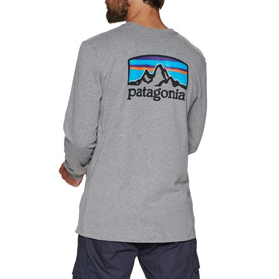 T-Shirt à Manche Longue Patagonia Fitz Roy Horizons Responsibilitee