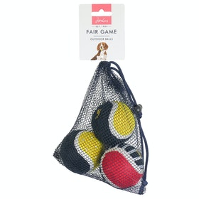 Joules 3 Pack Outdoor Balls Dog Toy - Multi