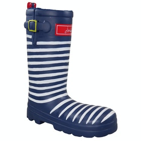 Joules Rubber Welly Dog Toy - Blue