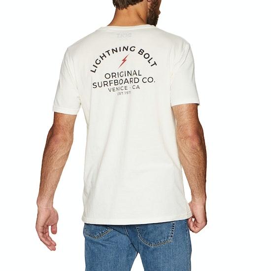 Lightning Bolt Honolulu Vintage Wash Short Sleeve T-Shirt