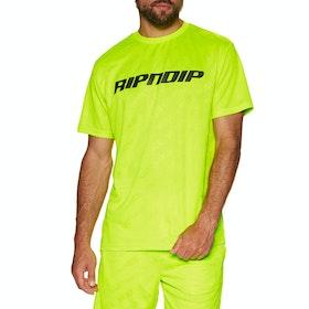 Rip N Dip Mbn Stripe Soccer Jersey Short Sleeve T-Shirt - Neon