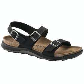 Birkenstock Sonora Ct Oiled Leather Sandals - Black