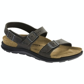 Birkenstock Sonora Ct Oiled Leather Sandals - Iron