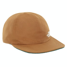 North Face Rev Fleece Norm Cap - Cedar Brown Night Green
