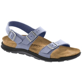 Birkenstock Sonora Ct Oiled Leather Sandals - Lilac Gray
