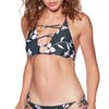 Billabong Flow On By High Neck Womens Bikini Top - Ink