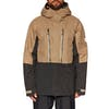 686 GLCR Ether Thermal Down Jacket - Khaki Level 1 Colorblock