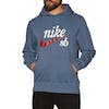 Pullover à Capuche Nike SB Washed Icon - Obsidian White Red