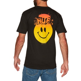 T-Shirt à Manche Courte Huf Mind Blown - Black