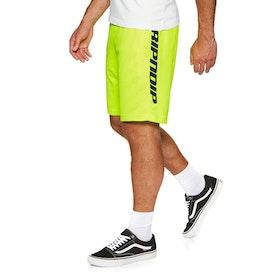 Rip N Dip Mbn Stripe Soccer Shorts - Neon