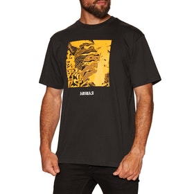 T-Shirt à Manche Courte Adidas Manoles Alias - Black Active Gold White