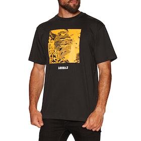 Adidas Manoles Alias Short Sleeve T-Shirt - Black Active Gold White
