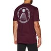 Theories Of Atlantis Chaos Short Sleeve T-Shirt - Maroon