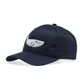 2 Minute Beach Clean Whale Logo Recycled Cap - Navy