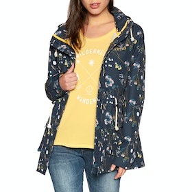 Animal Bryndley Light Weight Womens Jacket - Sky Captain Blue
