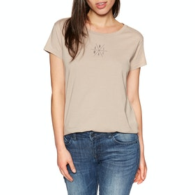 Animal Centreal Deluxe Womens Short Sleeve T-Shirt - Etherea Beige