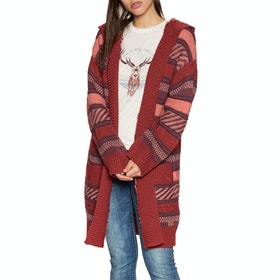 Animal Maya Coco Knitted Cardigan - Sun Dried Tomato Red
