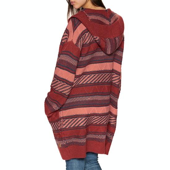 Casaco de Lã Senhora Animal Maya Coco Knitted