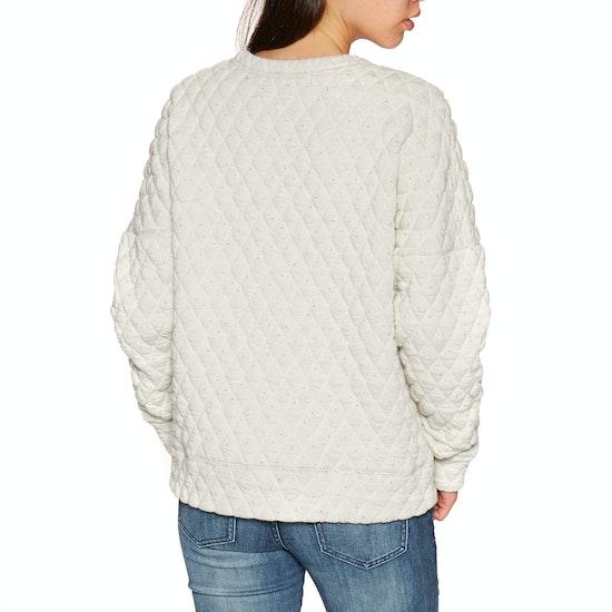 Knits Senhora Animal Quilts Crew Neck Sweatshirt