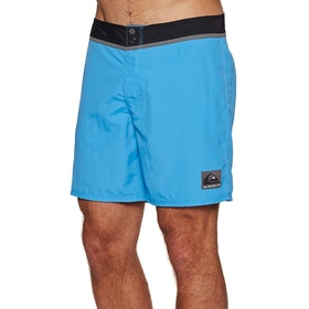 Quiksilver Solid Snap Vee 17in Boardshorts - Malibu Blue