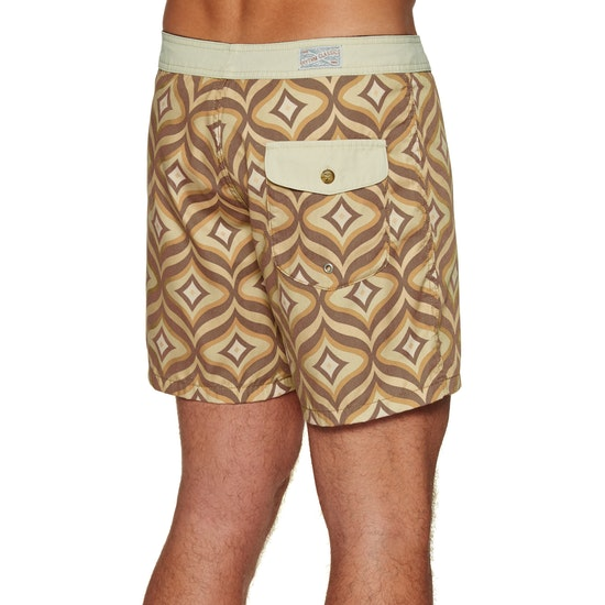 Rhythm Bungalow Trunk Boardshorts