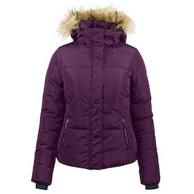 Horze Camilla Padded Riding Jacket - Prune Purple