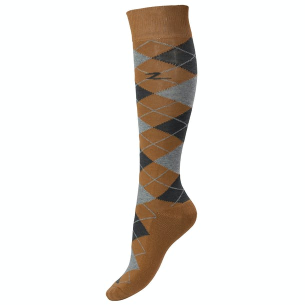 Horze Alana Checked Winter Socks