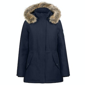 B Vertigo Estella Long Damen Jacke - Dark Navy