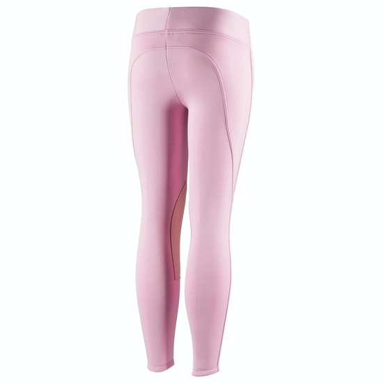 Horze Active Knee Patch Winter Kids Riding Tights
