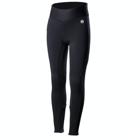 Horze Active Silicone Full Seat Kids Riding Tights - Dark Navy