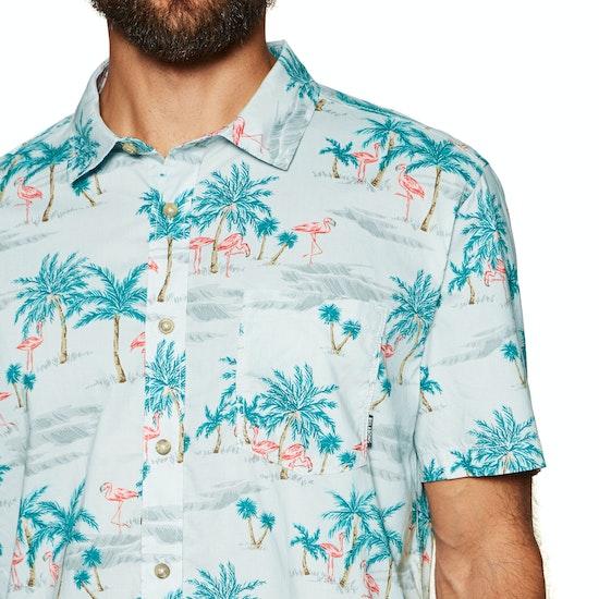 Billabong Sundays Floral Mens Short Sleeve Shirt