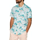 Billabong Sundays Floral Mens Short Sleeve Shirt