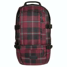 Eastpak Floid Laptop Backpack - Mono Wine Checks