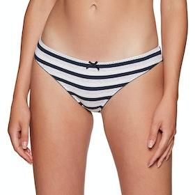 Culotte Femme Superdry Super Standard Brief 3 Pack - Mini Dot Fluro Pink Bold Stripe