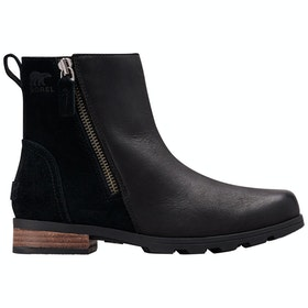 Botas Sorel Emelie Zip Bootie - Kilay Black