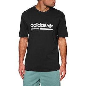 T-Shirt à Manche Courte Adidas Originals Kaval - Black