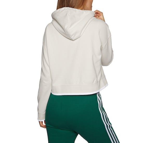 Adidas Originals Cropped Womens Pullover Hoody