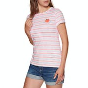 Joules Nessa Embroidered Womens Short Sleeve T-Shirt