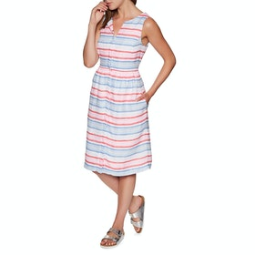 Joules Lisia Dress - Red Multi Stripe