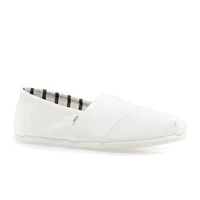 Toms Alpargata Slip On Shoes - White