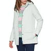 Barbour Crest Womens Jacket - Ice White