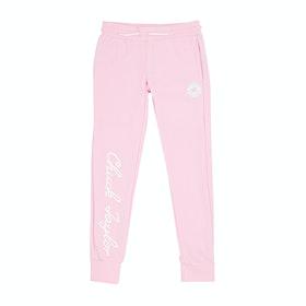 Pantalons de Jogging Converse Chuck Taylor Script - Pink Foam
