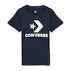Converse Stacked Wordmark Graphic Tee Boys Short Sleeve T-Shirt - Obsidian