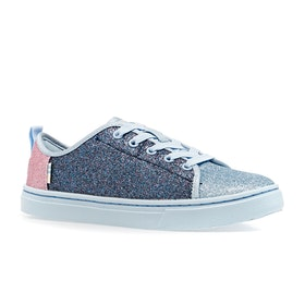 Chaussures Toms Lenny Youth - Multi Blocked Glitter