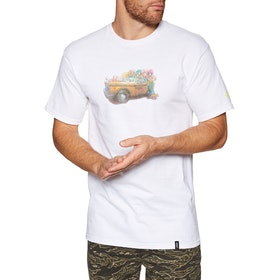 Huf Bode Taxi Short Sleeve T-Shirt - White