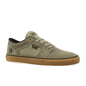 Etnies Barge LS Shoes - Olive Gum